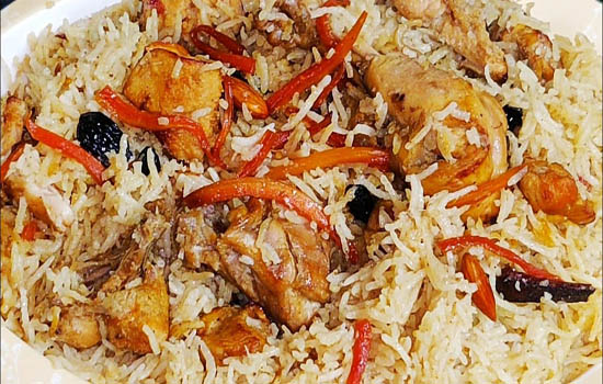 Afghani Chicken Pulao